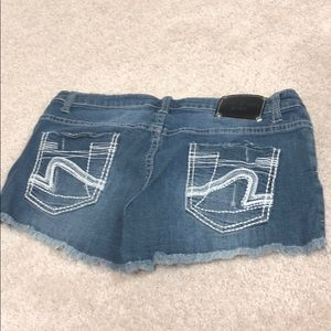 Red River jean shorts
